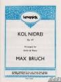 Bruch, Kol Nidrei for Violin Op.47 (Lengnick)