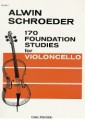 Schroeder, 170 Foundation Studies for Cello, Volume 1 (Fischer)