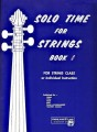 Solo Time for Strings Book 1 (Bass)
