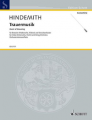 Hindermith Trauermusik/ Music of mourning (Schott)