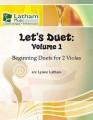 Let's Duet: Volume 1 for 2 Violas: Beginning Duets