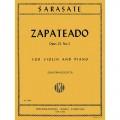 Zapateado Opus 23 No 2 for violin and piano Sarasate (IMC)