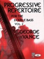 Vance, Progressive Repertoire for Double Bass Bk 2