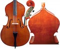 Gliga III German Style Double Bass with Helicore Hybrid Strings