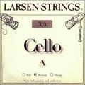 Larsen A 3/4 size cello Strings- Medium