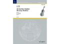 Lee, 40 Easy Studies for Cello (Schott)