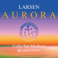 Larsen Aurora Cello String Set (Medium)