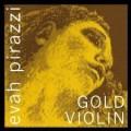 4/4 Evah Pirazzi Gold Violin D String (Ball End)