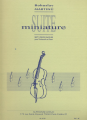Martinu, Suite Miniature for Cello and Piano