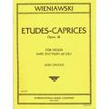 Wieniawski Etudes Caprices 6 Op18 violin with 2nd Violin (IMC)