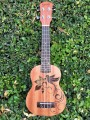 Soprano Ukulele with Bird Engraving