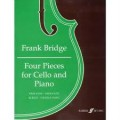 Four Pieces for Cello and Piano by Bridge (Faber)
