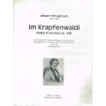 Strauss, Im Krapfenwaldl Op. 336 for String Orchestra (Full Score)