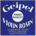 Geipel Light (Anti-allergenic) Violin Rosin