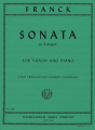 Franck, Sonata in A maj for Violin and Piano (IMC)