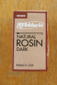 D'Addario Natural Dark Rosin for Violin, Viola and Cello