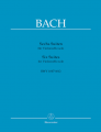 Bach, 6 Suites for Cello BWV 1007-1012 Ed. Wenzinger (Barenreiter)