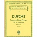 Duport, 21 etudes for cello book II (Nos. 14-21)