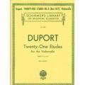 Duport, 21 etudes for cello book II (Nos. 14-21)