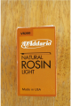 D'Addario Natural Light Rosin for Violin, Viola and Cello