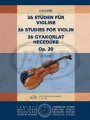 36 Studies for Violin Op20 by Kayser ( EMB)