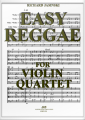 Jasinski, Easy Reggae for Violin Quartet