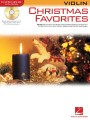 Christmas Favorites Violin Instrumental Play-along (Hal Leonard)