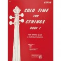 Solo Time for Strings Book 1 (Violin)