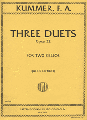 Kummer Three Duets Opus 22 for Two Cellos (IMC)