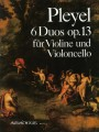 Pleyel, 6 Duos Op.13 for Violin and Cello
