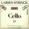 Larsen D 3/4 Size Cello strings - Medium