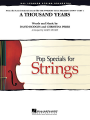 Moore, A thousand years (Twilight) - String Orchestra - Grade 3/4