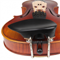 Wilfer Schmidt Adjustable Ebony (Over T/P) Violin Chinrest
