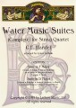 Water Music Suites for String Quartet (Latham)