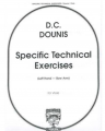 Specific Technical Exercises Op 25 For Viola by Dounis (Fisher)