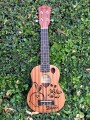 Soprano Ukulele with Bunny Engraving