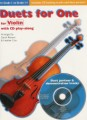 Duets for One with CD for Violin