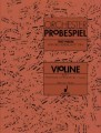 Orchester Probespiel Test Pieces for Orchestral Auditions Violin (Schott)