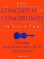 Rieding, Concerto in B min Opus 35 for Viola (Bosworth)