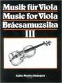 Szeredi, Music for Viola III (Musik fur Viola Bracsamuzsika) (EMB)