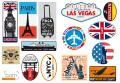 BAM Vintage Stickers