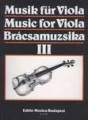 Music For Viola Edition Music Budapest
