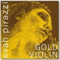 4/4 Evah Pirazzi Gold Violin E String Stainless Steel (Ball Ended)