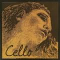 4/4 Evah Pirazzi Cello Gold C String