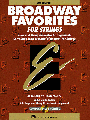 Broadway Favorites for Strings-Conductors Score with CD