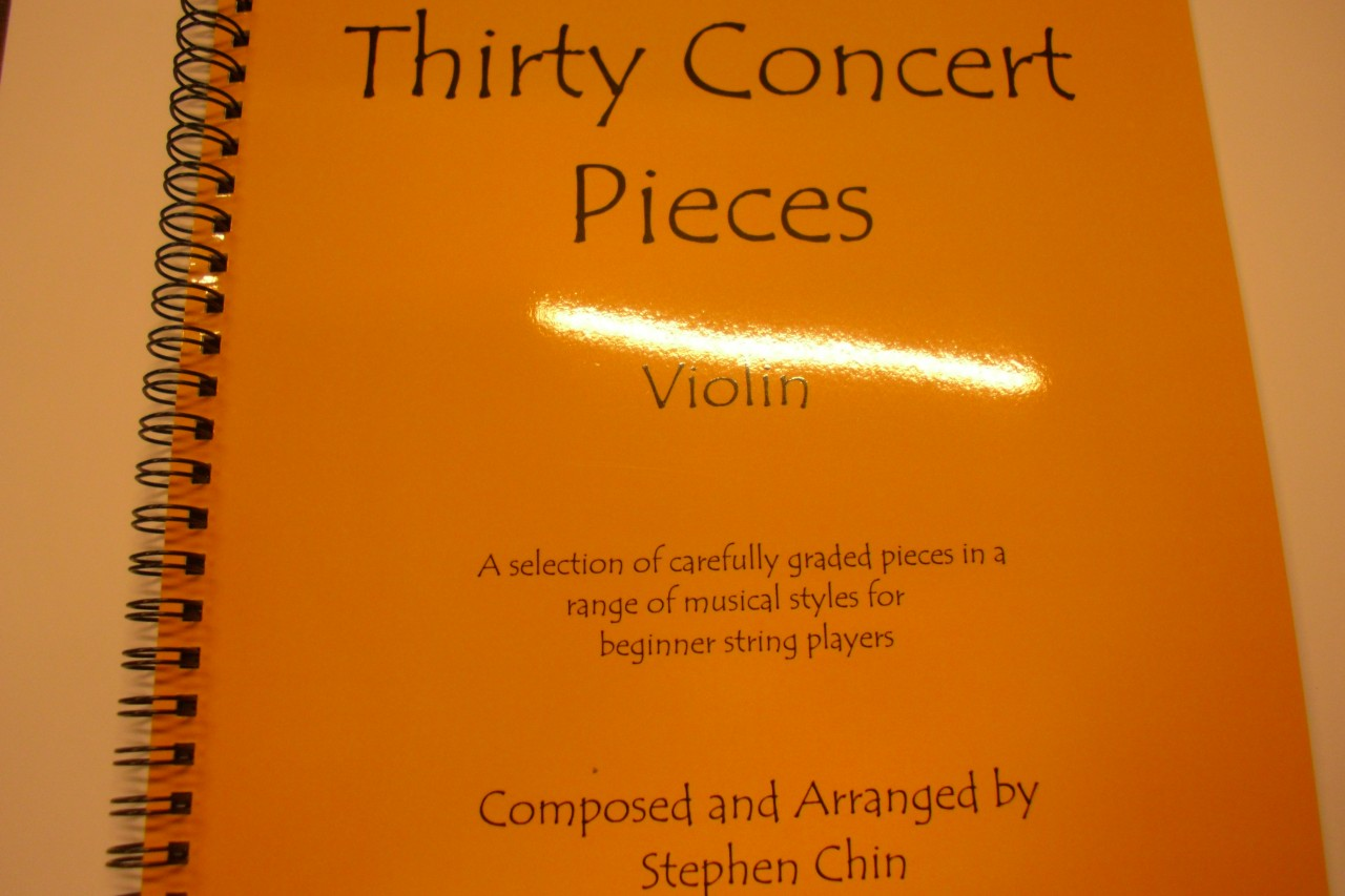 Chin, Thirty Concert Pieces - Violin (Grade 1) with CD