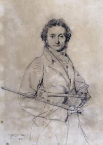 A depiction of Paganini