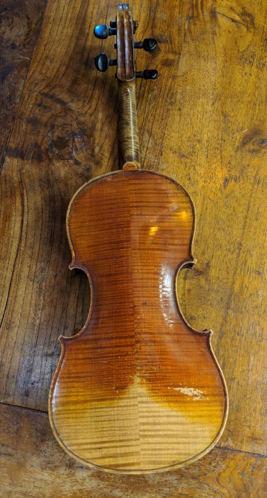 Back of Violin (Prior to Restoration)