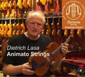 Dietrich Lasa, owner Animato Strings