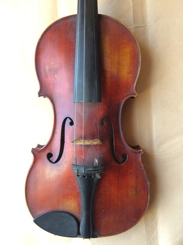 William Henry Dow violin top